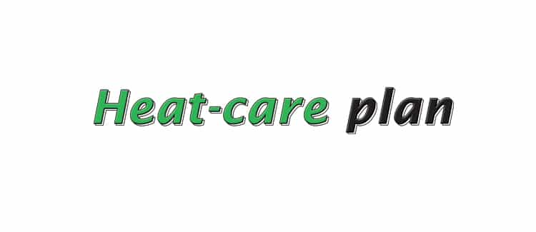 plan care for heat b